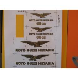 guzzi 65 emblemas Guzzi 65