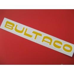 """bultaco adhesivo """"bultaco"""" del deposito amarillo-blanco"""