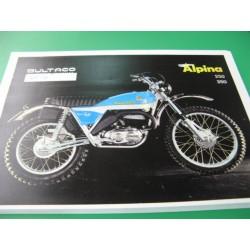 bultaco alpina 250 y 350 (modelos 137 y 138): despiece