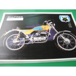 bultaco lobito MK8 74, 125, 175: despiece