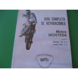 montesa, guia de reparaciones para motos desde 75 hasta 360 cc