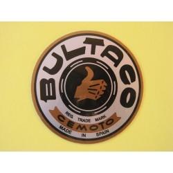 bultaco emblema metálico primeros modelos