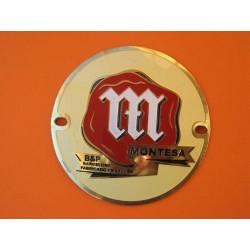 montesa emblema metálico Brio, yaya, D 51...