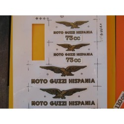 guzzi 73 emblemas Guzzi 73 (Cardellino)