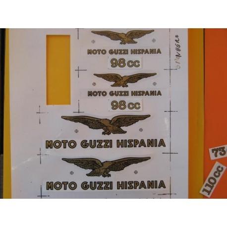 guzzi 98 emblemas Guzzi 98
