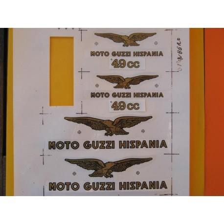 guzzi 49 emblemas Guzzi 49