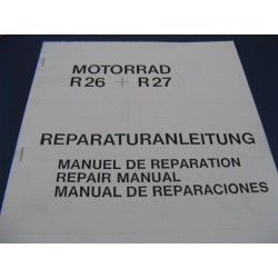 bmw R 26 y R 27 reparaciones en español