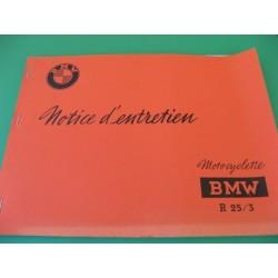 bmw R 25 / 3 mantenimiento