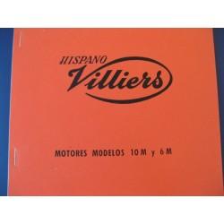 villiers motor 10 M y 6 M (125 y 200) mantenimiento y despiece