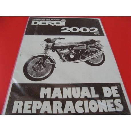derbi 2002 reparaciones