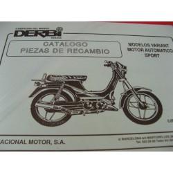 derbi variant automatico y sport despiece