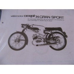 derbi 74 gran sport despiece
