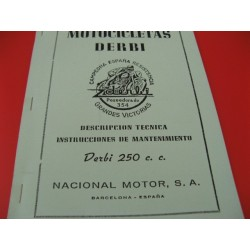 derbi 250 mantenimiento