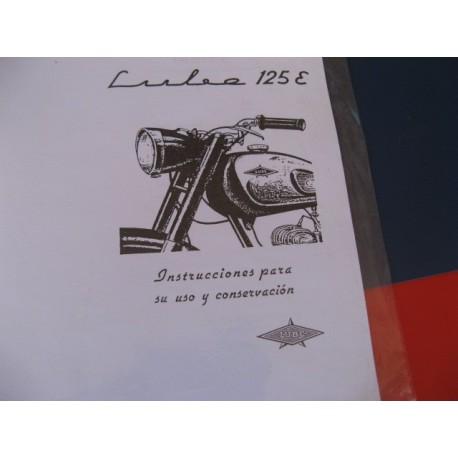 lube 125 E mantenimiento