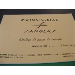 sanglas 350 despiece