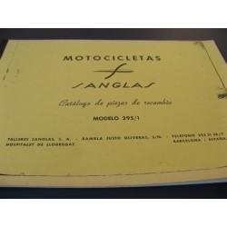 sanglas 295 despiece