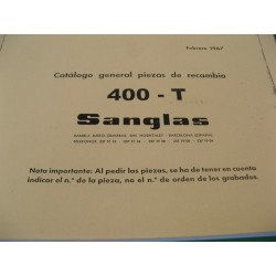 sanglas 400 T despiece