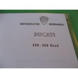 ducati 250 y 350 road mantenimiento