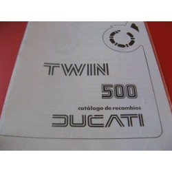 ducati 500 twin despiece de motor