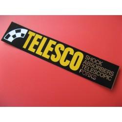 """telesco adhesivo """"telesco"""" para la horquilla años 80"""
