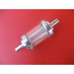 filtro de gasolina metálico y lavable para macarron de 6 mm