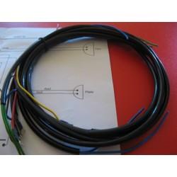 sistema de cableado de guzzi 49, 65 con esquema electrico