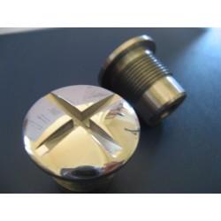 bultaco tralla mercurio y otras tapones (2) de horquilla
