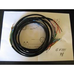 sistema de cableado de guzzi 98 con esquema