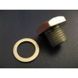 bultaco tornillo vaciado de aceite (14-150) con junta aluminio