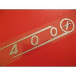 sanglas adhesivo de 400 con emblema del lado derecho