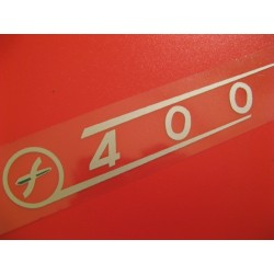 sanglas adhesivo de 400 con emblema del lado izquierdo