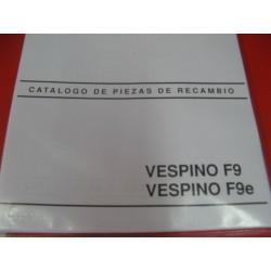 vespino F9 y F9 E despiece