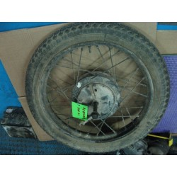 bultaco mercurio rueda delantera completa usada