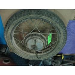 bultaco mercurio rueda trasera usada completa