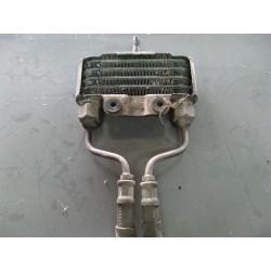 radiador de aceite para moto con latiguillos usado