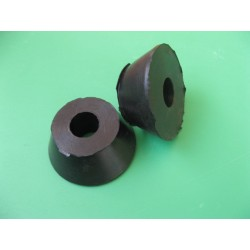bultaco topes (2) cortos de amortiguador betor y telesco