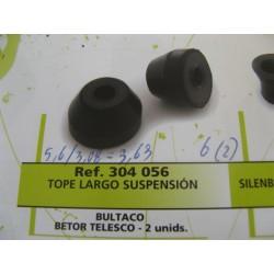 bultaco topes (2) largos de amortiguador betor y telesco
