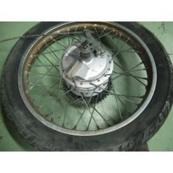 yamaha sr special 125 y 250 rueda trasera completa usada