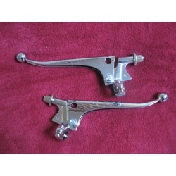 manetas de hierro tipo ingles años 40/50/60 con soporte y tensor