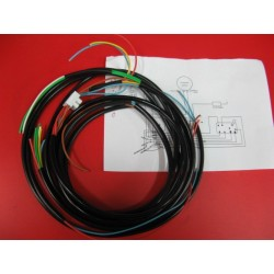 bultaco mercurio y otras cableado electrico con esquema