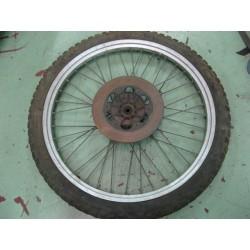 rueda completa de ciclomotor llanta aluminio 1,40 x 21 con disco