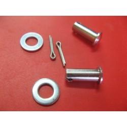 bultaco mercurio y otras pasadores (2) de maneta con arandelas y