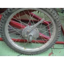montesa enduro y cappra rueda delantera completa usada