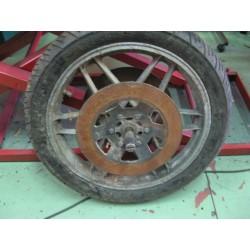 guzzi 850 y 1000 rueda delantera usada con 2 discos