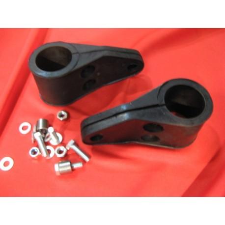 Bultaco, soportes de faro de Bultaco