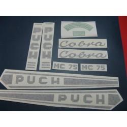 puch cobra MC juego de adhesivos