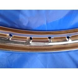 llanta de acero cromado de 1,50 x 19 de 36 radios