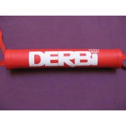 derbi protector de manillar rojo de 27 cm