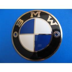 bmw emblema del deposito metalico de 70 mm