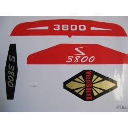 velosolex 3800 juego de adhesivos